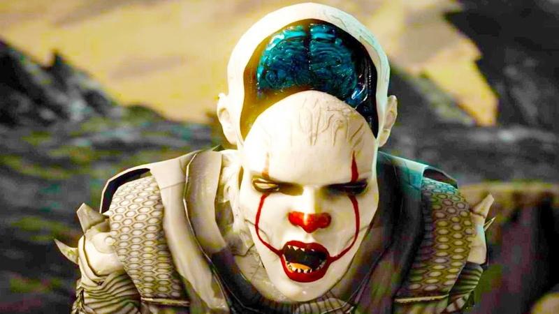 Mortal Kombat XL - All Fatalities X-Rays on Pennywise D'Vorah Costume Skin Mod 4K Gameplay Mods