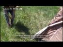 Обзор и сборка палатки Сары-Арка