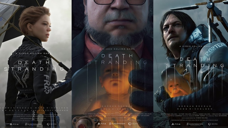 Death Stranding Trailer 1-4 | A Hideo Kojima Game