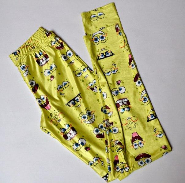 Очень давно хотела эти забавные леггинсы, для домашней носки)