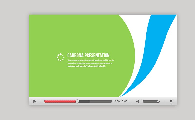 Carbona - professional business presentation