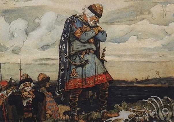 Игорь Рюрикович «алчный князь» Сын Рюрика принял княжение после смерти Вещего Олега, а закончил жизнь разорванным между двух деревьев. «И пришли к горам киевским, и увидел Олег, что княжат тут