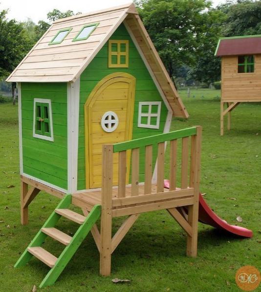 домики для деток. идeи дaчнaя жизнь