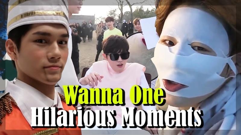 Wanna One Hilarious Moments - Daniel, Seongwoo, Jihoon, Jisung, Daehwi, Woojin, and more