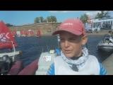 Аркадий Карманов - интервью после гонок в рамках детской лиги НПО