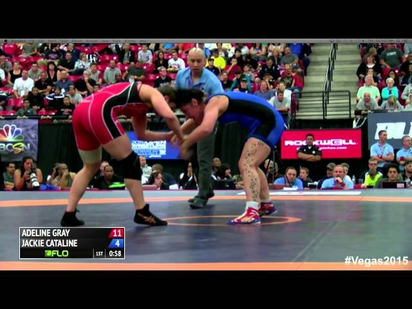75 kg Finals - Adeline Gray (NYAC) vs Jackie Cataline (TMWC)