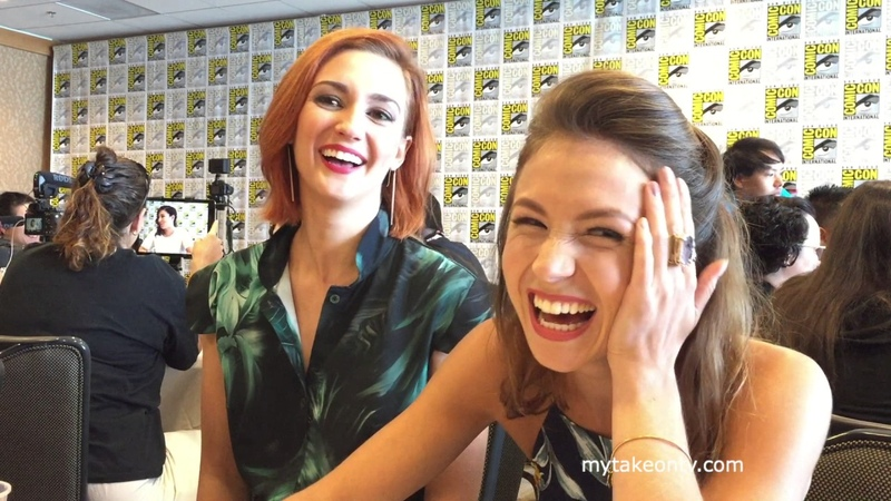 SDCC 2017: WYNNONA EARP's Dominique Provost-Chalkley and Katherine Barrell on Wayhaught and S2