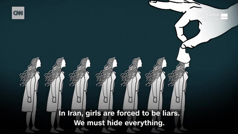 Threatened with 'acid, rape, abuse': Protesting Iran's compulsory hijab law » Freewka.com - Смотреть онлайн в хорощем качестве