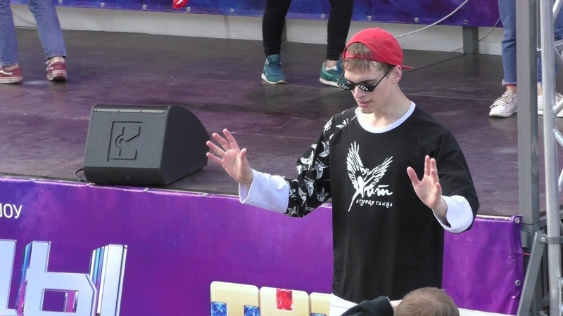 Танцы! (Танцевальная гонка тнт, выходные на набережной Пермь 25.08.2018)