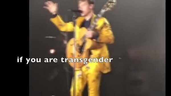 если ты чернокожий, если ты белокожий, если ты гей, если ты гетеросексуальный, если ты транссексуал кем бы ты ни был, кем бы ты ни хотел стать, я поддерживаю тебя. я люблю