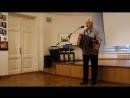 Наш замечательный современник, фотограф, музыкант, филолог Анатолий ПАНТЕЛЕЕВ на открытии своей фотовыставки в Питере. 6 июля 20