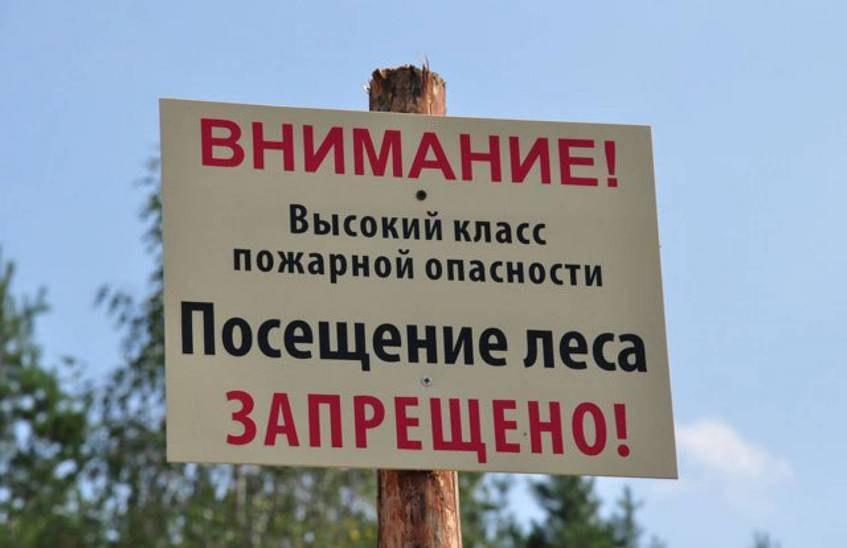 Чрезвычайная пожароопасность ожидается в Зеленчукском районе