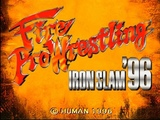 PSX Fire Pro Wrestling Iron Slam '96