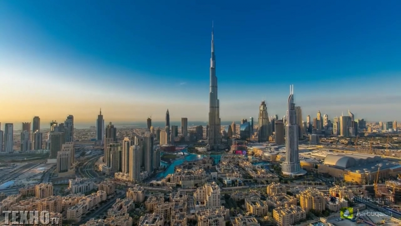 Из пустыни в город будущего - Как Менялся город Дубай, ОАЭ.