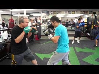 Fists of Gold, Zou Shiming vs Hall of Fame Trainer, Freddie Roach at Wildcard Gym