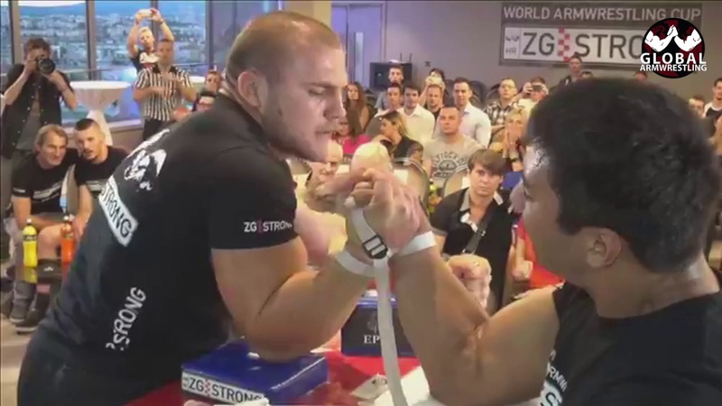 ARM WRESTLING Sasho Andreev VS Kydyrgaly Ongarbaev -ZG Strong » Freewka.com - Смотреть онлайн в хорощем качестве