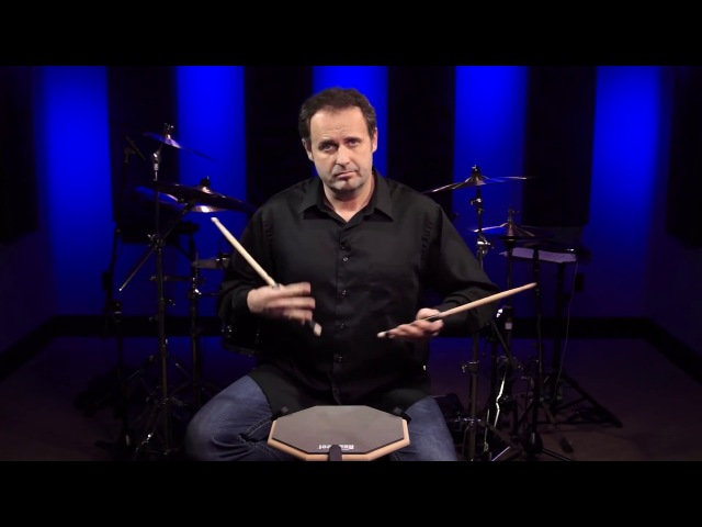 Drum Lesson (Drumeo) - Развитие скорости парадидлов. BKR