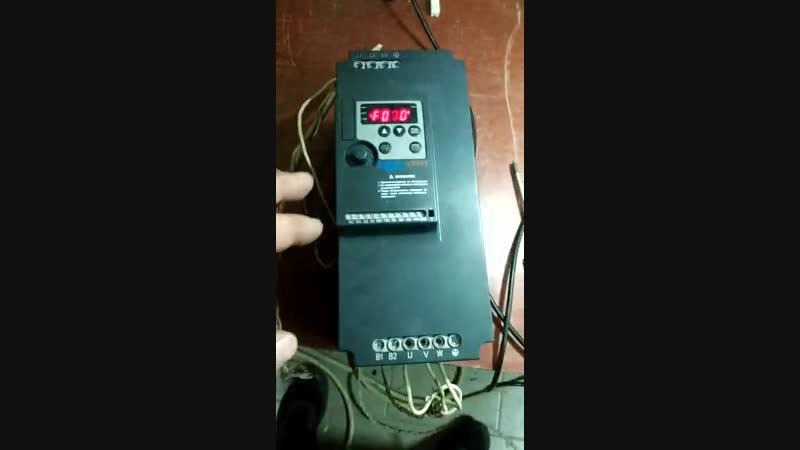 Выполненный ремонт преобразователя частоты Innovert ISD752M43B