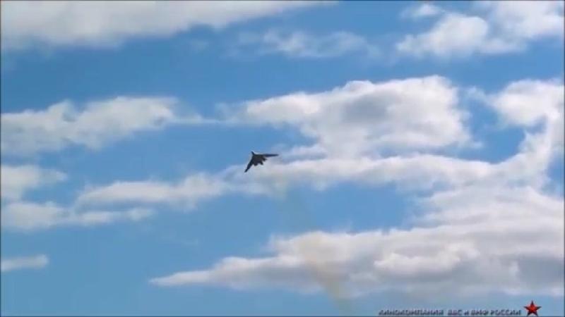 ПОЛНЫЙ ПИ@Ц! ТУ -160 БЕЛЫЙ ЛЕБЕДЬ НА ПОЛНОМ ФОРСАЖЕ! НЕТ СЛОВ! THE TU -160 WHIT