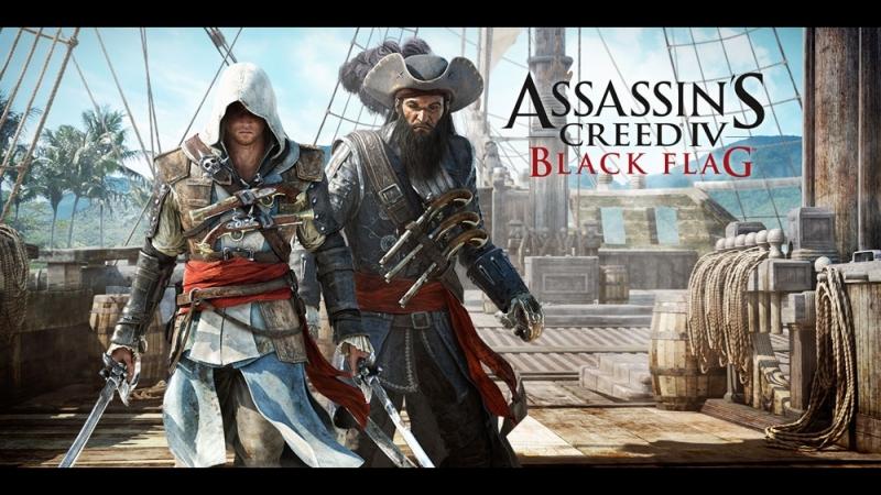 (Пиратский стрим) Assassin's Creed IV: Black Flag ссылки на розыгрыш ключа от Saints Row: The Third