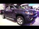 2018 Chevrolet Colorado 100th Anniversary - Exterior Interior Walkaround - 2018 Detroit Auto Show
