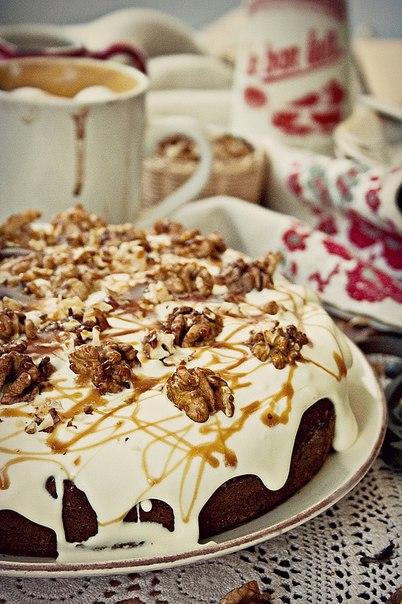 Торт медовик с орехами фото