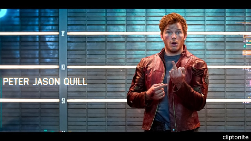 Peter Quill Middle Finger Space Prison Scene | Guardians Of The Galaxy (2014) Movie CLIP IMAX 4K