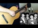 Let It Be (The Beatles) на классической гитаре. Ноты и табы.