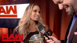 Toronto's Trish Stratus soaks in her hometown return Raw Exclusive, Aug. 27, 2018