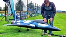 STUNNING GIANT RC CHENGDU FC-1 SCALE MODEL TURBINE JET FLIGHT DEMONSTRATION