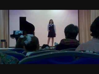 Выступление март 2018 Инга Кузьмина