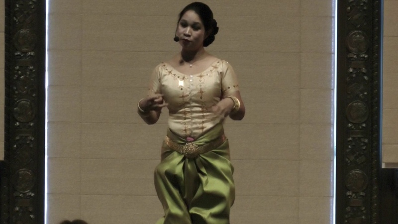 Cambodian Dance with Charya Burt and Reakmey Lath