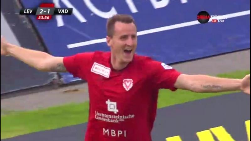 Левски - ФК Вадуц 3 2 - Видео Лига Европы. Сенсация или слив Болгар?