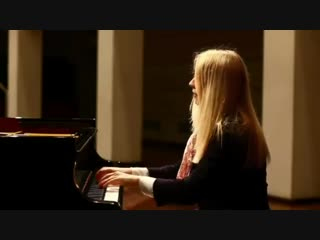 Beethovens moonlight played by Valentina Lisitsa