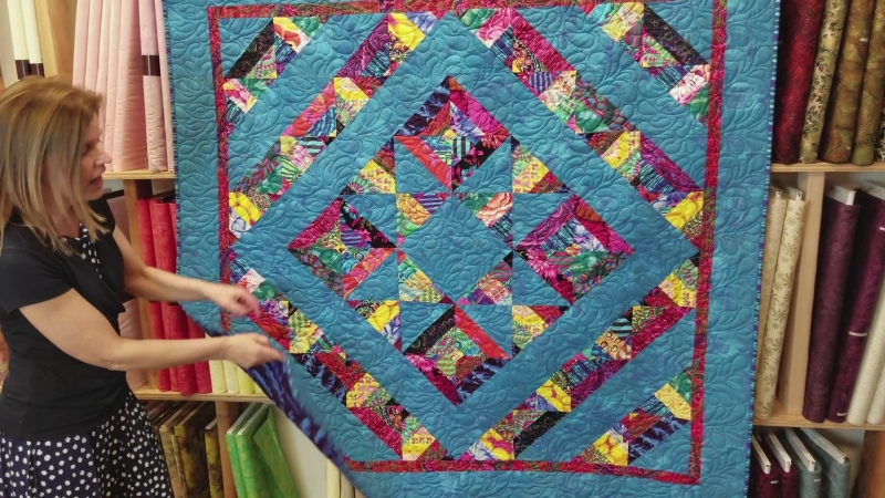 Its a Mirage Quilt! Who Can See the Blue Star