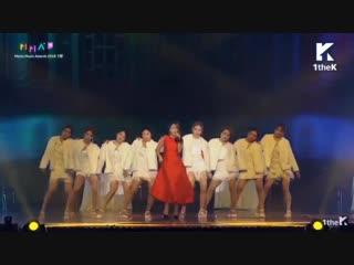 Hong Jin Young - Tango Perf. + Goodbye (Tango Ver.) @ 2018 MMA • Melon Music Awards 181201