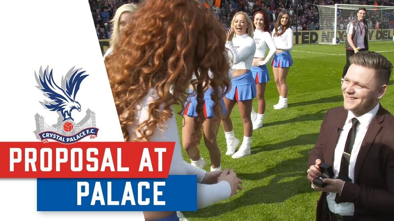 WATCH: Selhurst Park Marriage Proposal… To A Crystal!