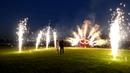 Наземный и высотный фейерверк на свадьбу А.Е.