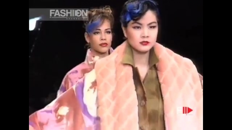 KANSAI YAMAMOTO Fall Winter 1992 1993 Paris Fashion Channel