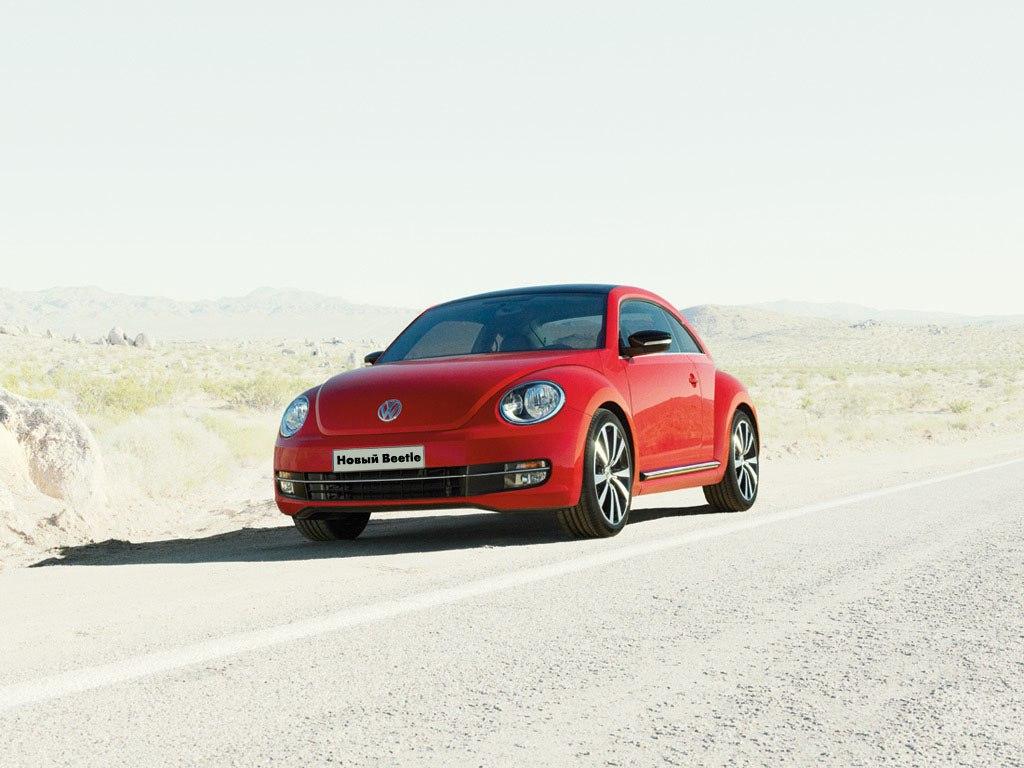 VW Beetle 2014