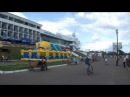 Прогулка по набережной площади в Комсомольске-на-Амуре.