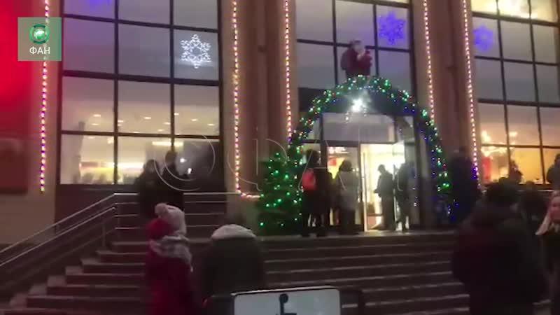 ТЦ «Центральный» в Подмосковье эвакуировали из-за задымления