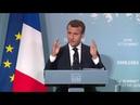 Emmanuel Macron: Compte-rendu du G7 après de longues heures de travail et discussion 9.06.2018