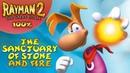 Rayman 2: The Great Escape - Все лумы и клетки - Святилище камня и огня