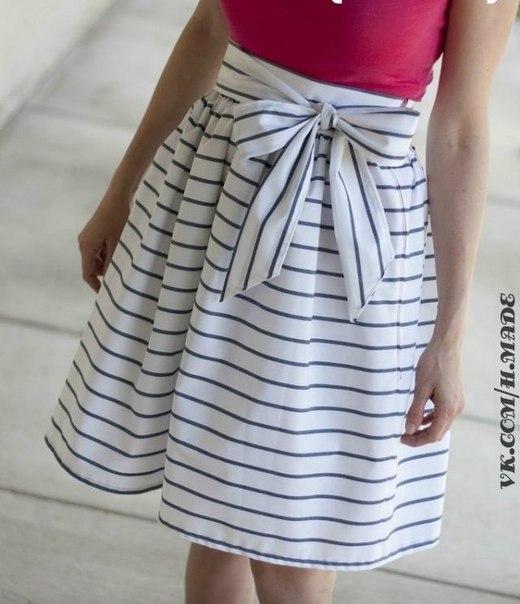 Шьем юбку на лето