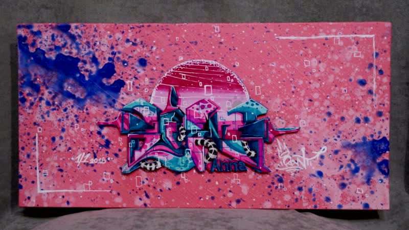 Graffiti ART Painting | Walls Ran Ti