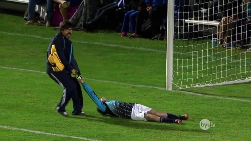 Tinto Show G҉ a҉ m҉ e҉ r҉ Вратарь отбил все 5 пенальти собственным лицом Funny penalties