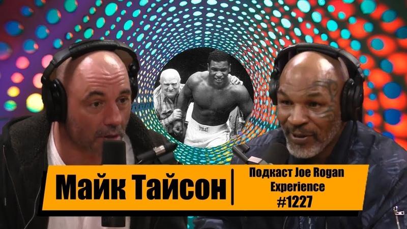 Майк Тайсон - Не оглядываюсь в прошлое / Психоделики / Новая жизнь / Подкаст Джо Рогана 1227