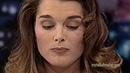 BROOKE SHIELD'S FAMOUS CHERRY STEM KNOT on 'LENO'
