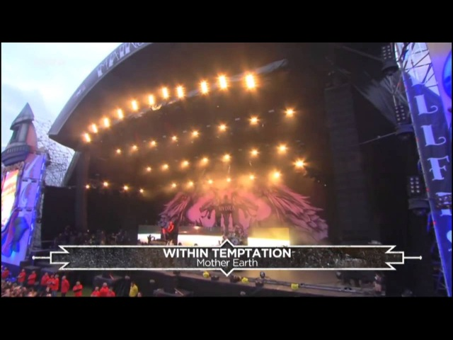 Within Temptation Tarja Live at Hellfest 2016